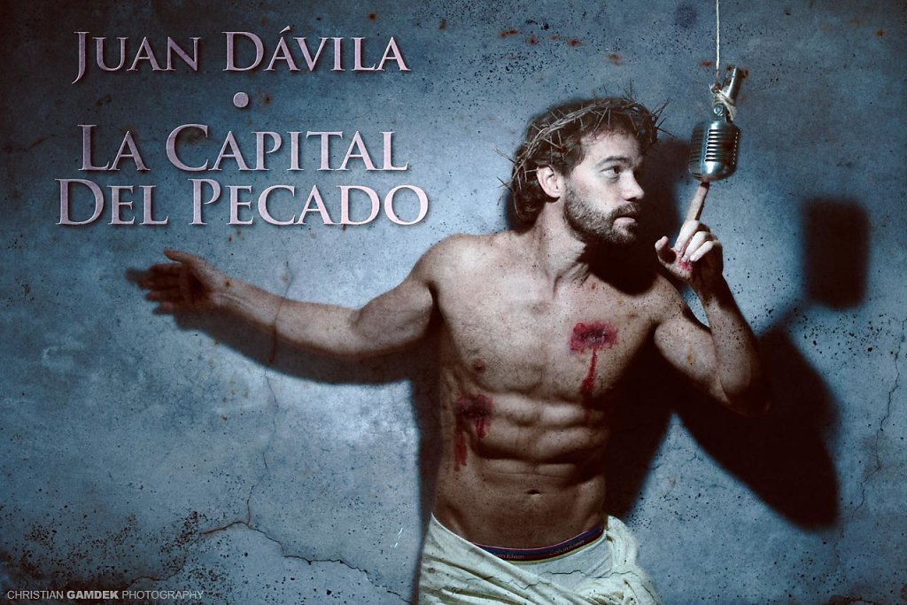 """JUAN DÄVILA. Cartél para """"La capital del Pecado"""" de Juán Dávila."""